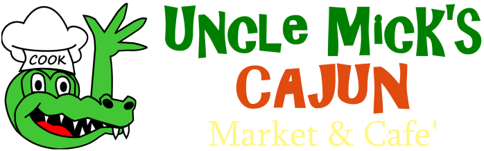 Uncle Mick's logo - horizontal with transparent background - PNG format