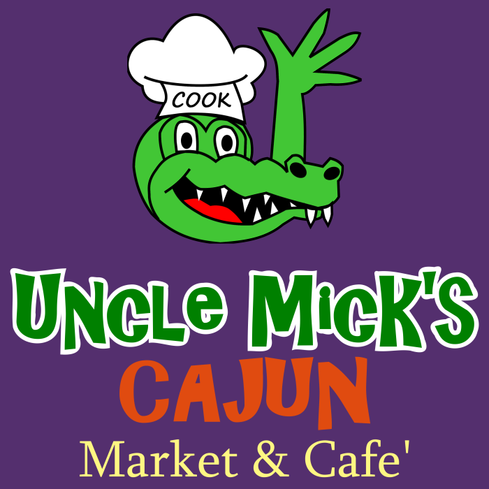 Uncle Mick's logo - square with purple background - PNG format