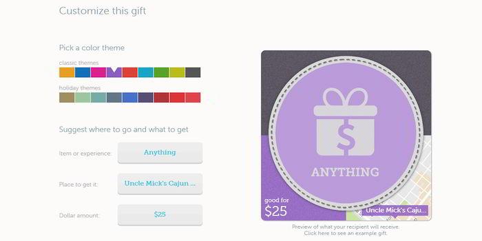 Buy Restaurant Gift Card Vouchers